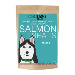 CDB dog treat salmon