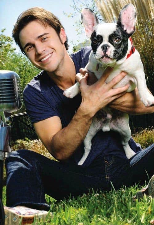 Kris Allen French Bulldog