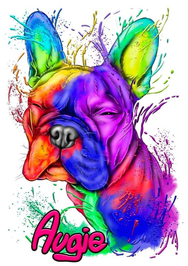 French Bulldog Art - Augie